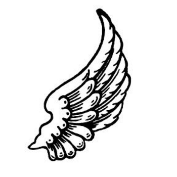 Free Clipart Picture of Wings