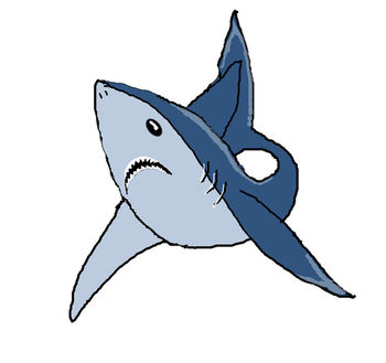 Free Great White Shark Clip Art Picture