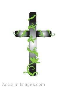 Shining Easter Cross