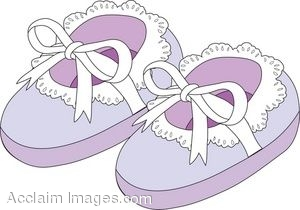 Lavender Baby Shoes