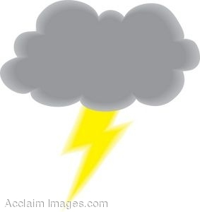 clipart picture of a storm cloud with lightning rh clipartguide com Snow Cloud Clip Art Snow Cloud Clip Art