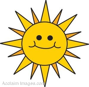 Sun With a Smiley Face