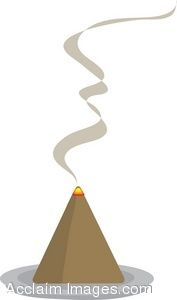 Smoke From Incense Clip Art
