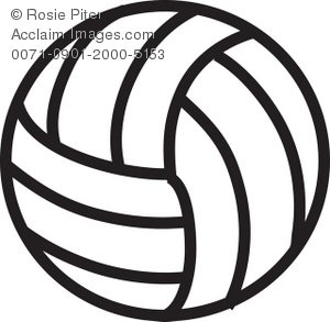 volleyball black and white royalty free clip art picture rh clipartguide com free volleyball clipart vector free volleyball clip art designs