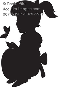 Little Girl Silhouette