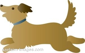 clipart of a running dog rh clipartguide com Running Cat Clip Art Running Cat Clip Art