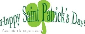 Saint Patricks Day Sign