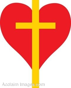 Cross of Gold and a Red Heart