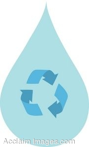 Recycling Water Icon