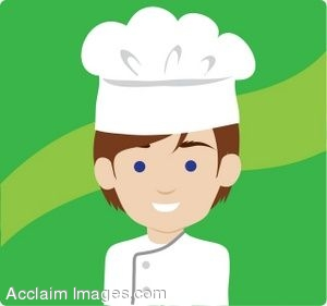 Browwn Haired Male Chef
