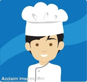 Black Haired Male Chef