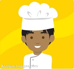 Dark Skinned Chef