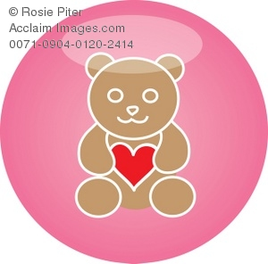 Bear and Heart Icon