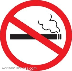 Sign For No Smoking