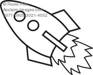 clipart illustration of a rocket ship rh clipartguide com rocket ship outline clipart rocket ship clipart free