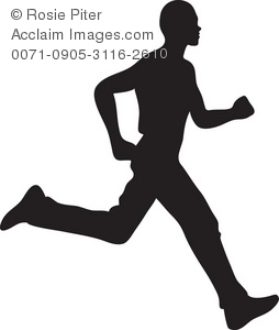 man running or jogging silhouette royalty free clip art picture rh clipartguide com Girl Running Clip Art person running away clipart