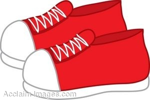clip art of a pair of sneakers rh clipartguide com clip art of shoes clipart of shoebox with hearts