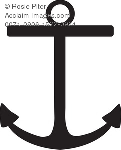 Black Boat Anchor