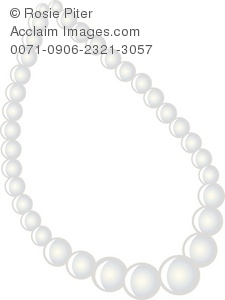A White Pearl Necklace