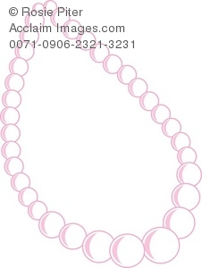 A Pink Pearl Necklace