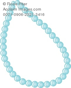 A Blue Pearl Necklace