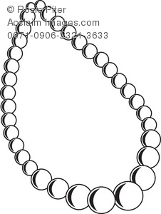 the outline of a pearl necklace royalty free clip art picture rh clipartguide com necklace clip art free necklace clip art free black and white