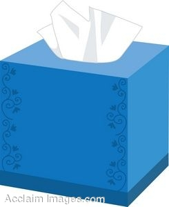 Clip Art of a Box Of Tissues