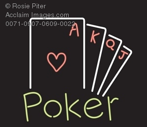 A Neon Sign For Poker
