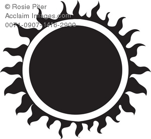 black tribal sun royalty free clip art image rh clipartguide com