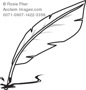 quill pen royalty free clip art image rh clipartguide com scroll and quill clipart quill clipart free