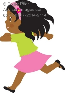 little girl running royalty free clip art image rh clipartguide com run clipart gif run clipart black and white