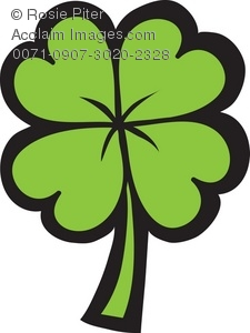 four leaf clover royalty free clip art image rh clipartguide com 4 leaf clover clipart black and white 4-h clover leaf clipart