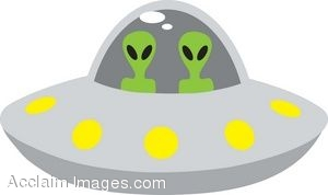 Aliens In Space Ship