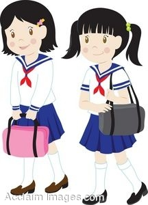 clip art of girls in school uniforms rh clipartguide com army uniform clipart uniform clipart black and white