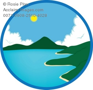 ocean scene royalty free clip art image rh clipartguide com ocean clip art images ocean clip art pictures