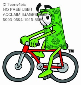 Money bicycling
