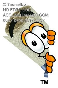 Diploma Cartoon Character Spying