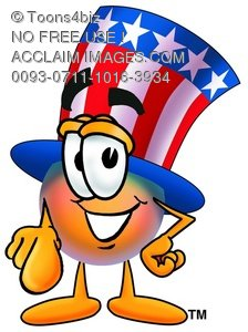 Uncle Sam Character Pointing Forward