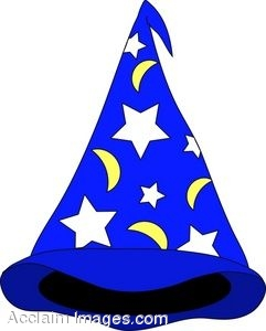 Pointed Wizard Hat
