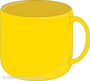 clip art of a yellow coffee mug clipart guide