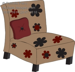 Retro Living Room Chairs retro living room chair royalty-free clip art picture