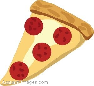 clip art of a slice of pepperoni pizza rh clipartguide com