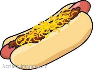 clip art of a cartoon chili dog with cheese rh clipartguide com hot dogs clipart black and white hot dog clip art step by step