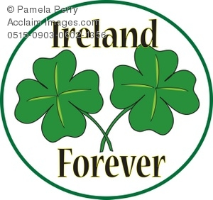 """Ireland Forever"" Button"