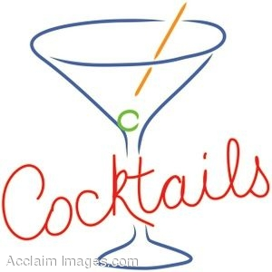"Retro ""Cocktails"" Sign"