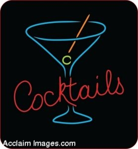 "Neon ""Cocktails"" Sign"