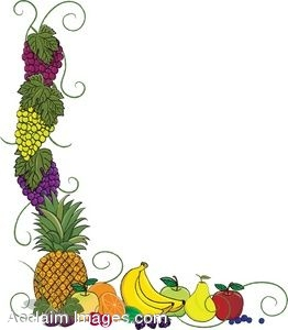 Fruit Page Border