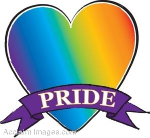 Rainbow Heart-Gay Pride