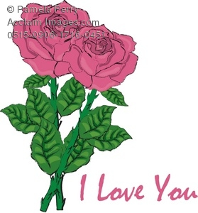 I Love You With Roses Card