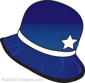 clip art of an old fashioned policeman hat rh clipartguide com
